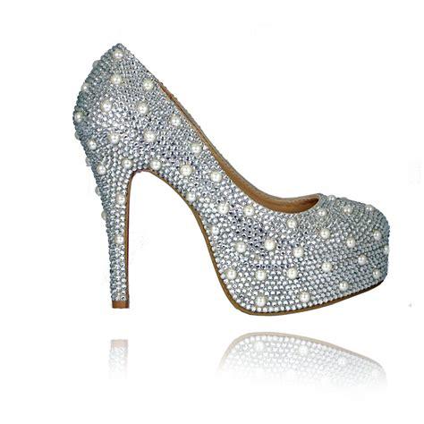 Cristal Shose bridal boutique bridal shoes and pearl