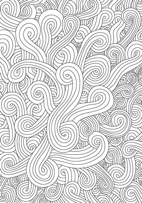 swirl coloring sheets 17 best images about coloring and patterns 2 on pinterest