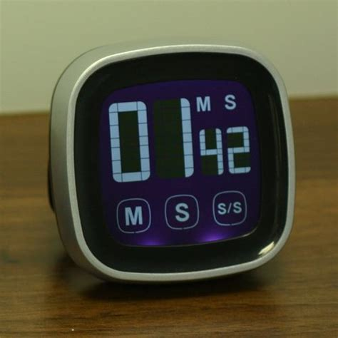 Kitchen Timer With Alarm by Lcd Touch Screen Kitchen Timer Magnetic Countdown Count Up