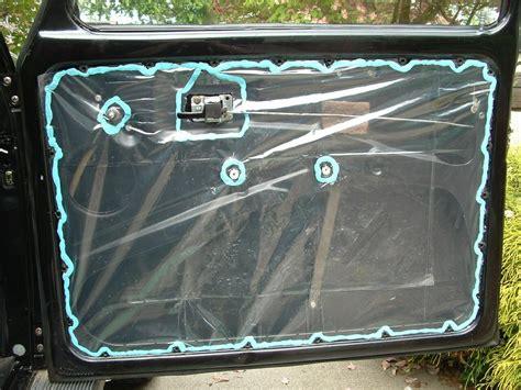 Water Inside Car Door by Dor Panel Barrier Adhesive Alfa Romeo Bulletin Board