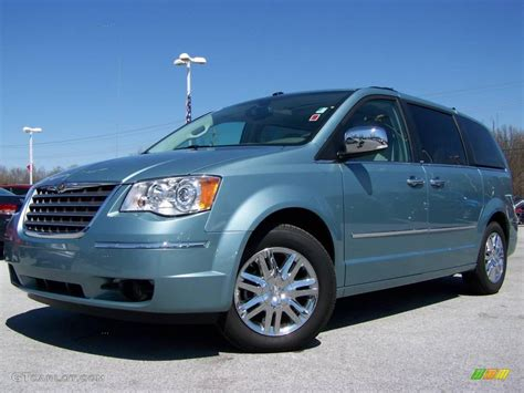 2009 Chrysler Town And Country by 2009 Clearwater Blue Pearl Chrysler Town Country Limited