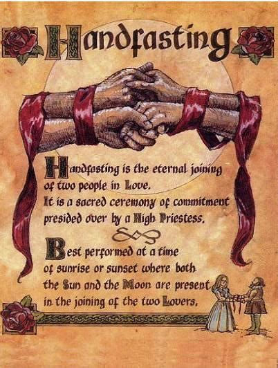 Wedding Ceremony Handfasting by Pagan Is Us Handfasting Wiccan And Pagan Marriage