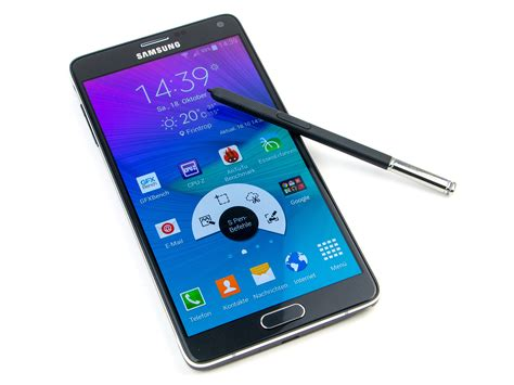 samsung galaxy note 4 sm n910f smartphone review notebookcheck net reviews