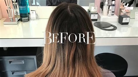 how to blend hair color two step highlight perfect balayage hair color blend