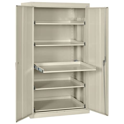 66 In H X 36 In W X 24 In D 5 Shelf Heavy Duty Steel Cabinet With Shelves