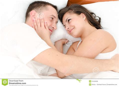 man and woman in bed young man and woman royalty free stock image image 31424036