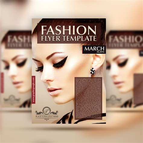 fashion flyers templates for free free fashion flyer template graphic tasty graphic designs collection