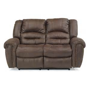 flexsteel 1710 60 downtown fabric reclining loveseat