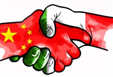 di commercio cinese di commercio italia e cina sempre pi 249 unite