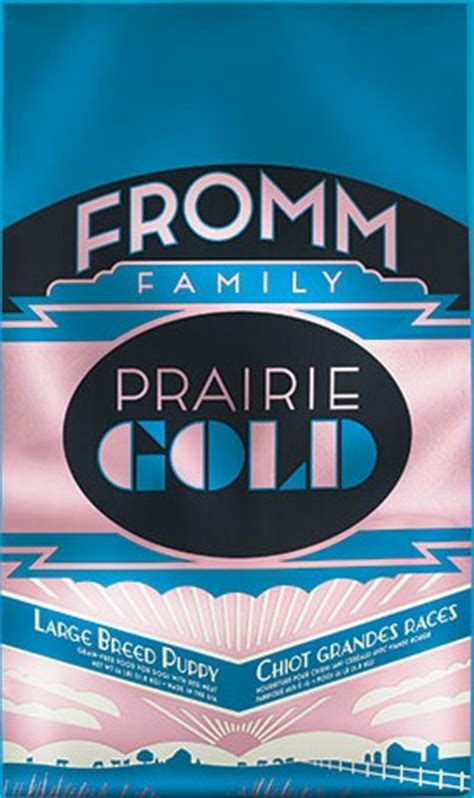 fromm gold large breed puppy prairie gold large breed puppy nourriture pour chiot de grande race fromm le