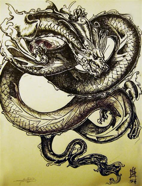 chinese dragon by chafir on deviantart