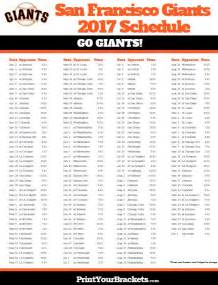 giants home schedule 17 best images about printable mlb schedules on