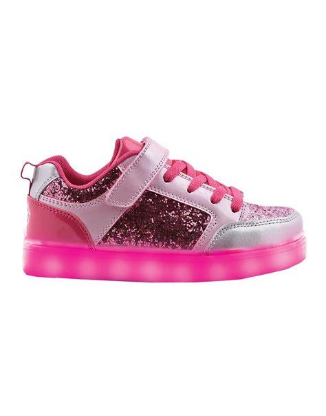 imagenes de zapatillas con reflexion zapatillas footy led shiny rosa tienda footy