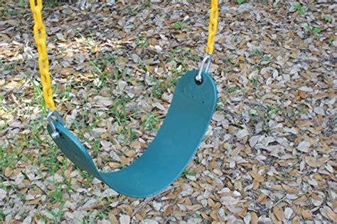 plastic coated wood swing set jungle gym kingdom swing seat heavy duty 66 quot chain plastic