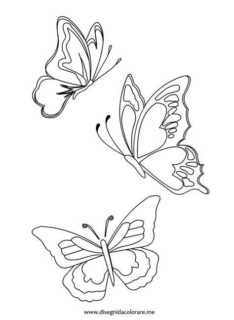 fiori e farfalle da colorare farfalle disegni vari farfalle e