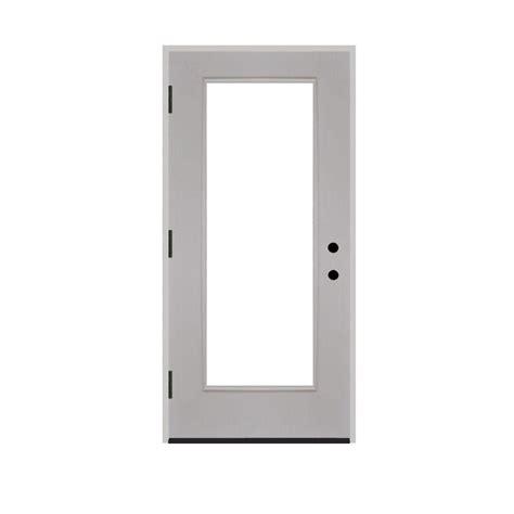 28 X 80 Exterior Door Steves Sons 28 In X 80 In Premium Lite Primed