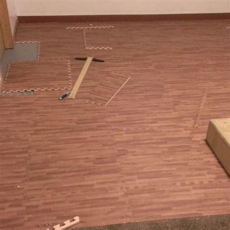 Temporary Hardwood Flooring Over Carpet Flooring Sw