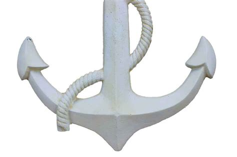 Anchor Decor by Antique White Cast Iron Anchor Key Hook 5 Quot Metal Wall