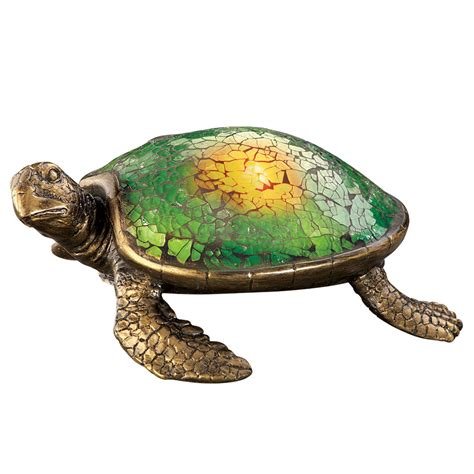 Solar Lighted Mosaic Garden Sea Turtle By Collections Etc Solar Turtle Light