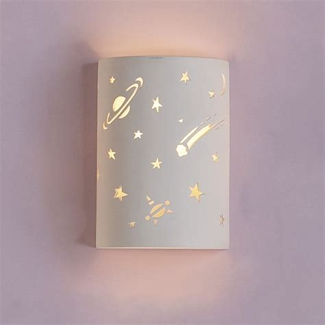 Childrens Wall Sconce 9 quot milk way bathroom vanity lighting sconce fabby