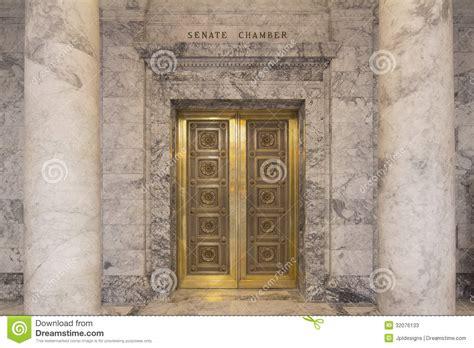 Door Dc by Washington State Capitol Senate Chamber Stock Photos