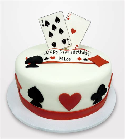 playing card themed cake  caseys cupcakes cake ideas   birthday cake poker cake