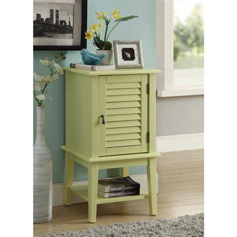 Yellow Storage Cabinet Acme Furniture Hilda Light Yellow Storage Cabinet 97356 The Home Depot