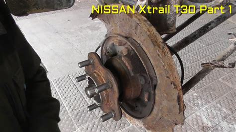 Spare Part Xtrail nissan x trail rear wheel bearing replacement part 1