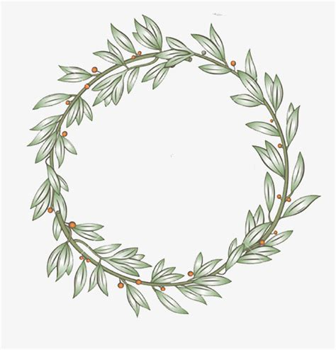 laurel wreath clip laurel wreath laurel wreath green leaves png image and