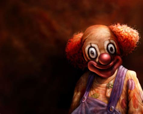 Clown Desktop Wallpaper