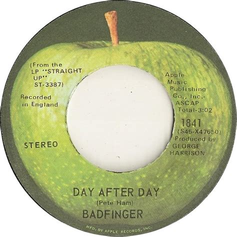 day after day 45cat badfinger day after day money apple usa 1841