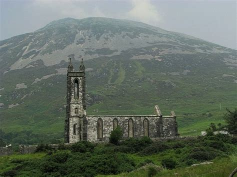 Haunted Donegal church in donegal ireland church standing