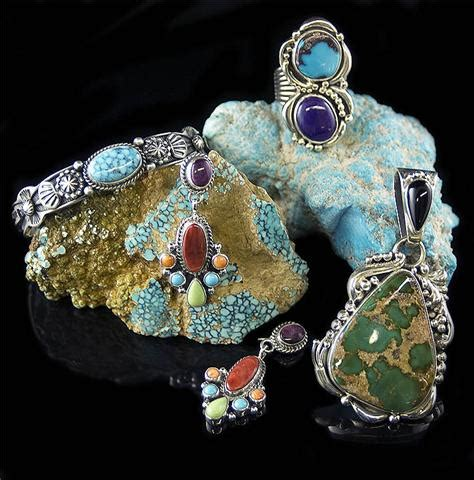 Handcrafted Turquoise Jewelry - handcrafted turquoise jewelry by durango silver company