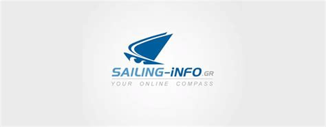 creative sailing  sea themed logo design examples