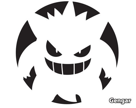 printable pumpkin stencils pokemon pokemon pumpkin stencils to print images pokemon images