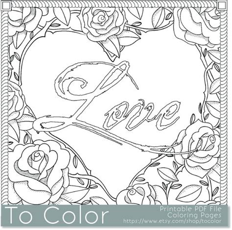 love coloring pages for adults love coloring pages for adults with regard to encourage to
