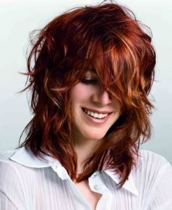 layred hairstyles eith high low lifhts la biosthetique color alex huston