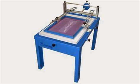 desain meja sablon presisi peralatan dasar sablon manual ini blognya jangkrik t