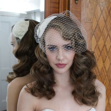 Wedding Hair Cage Veil by Wedding Hairstyles With Birdcage Hairstyles
