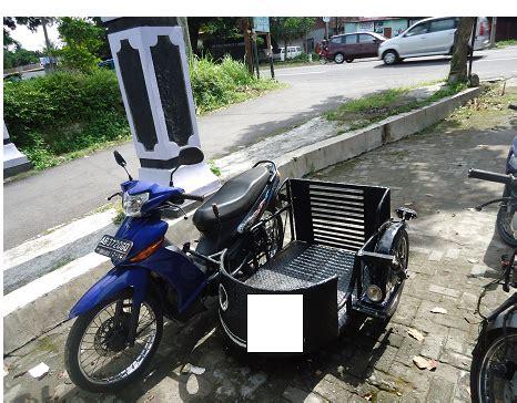 Karet Kaki Kursi Cop 58 modifikasi motor untuk difable