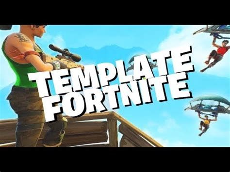 Fortnite Template Fortnite Style Intro Outro Free Template In 60 Fps Doovi