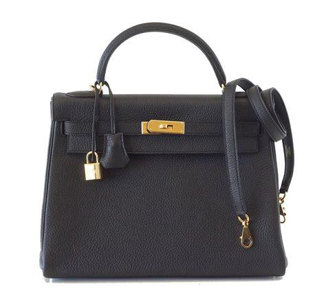 Hermes Black hermes bag 32cm black togo gold hardware world s best