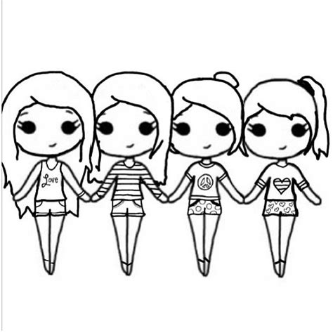best templates for pages free best friends chibi coloring pages