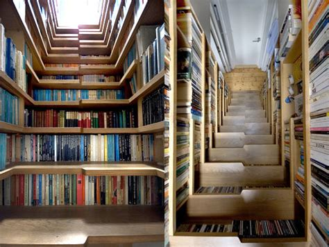 Canoe Shaped Bookcases 25 Creative Bookshelf Designs You Have Got To See Hongkiat