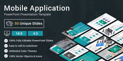 Best Mobile Application Powerpoint Presentation Template Slidesalad App Presentation Template Free
