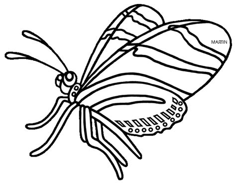 zebra butterfly coloring page zebra longwing butterfly clipart clipground