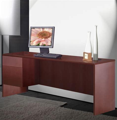 credenza basic alexis basic credenza desk 2 drawer left contempo space