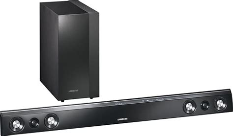 samsung 2 1 ch home theater soundbar system with wireless