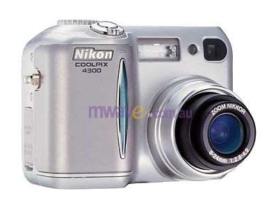nikon coolpix 4300 digital 4 0 mpix optical zoom 4300 mwave au