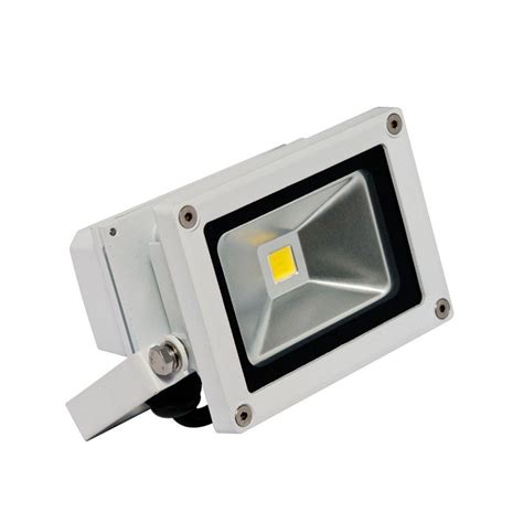small led flood lights irradiant 1 head white led soft white outdoor wall mount